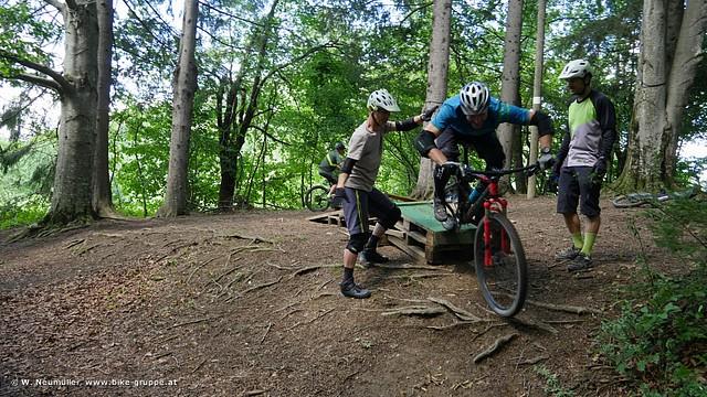 MTB Fahrtechnik Training (Foto: Wolfgang Neumüller)
